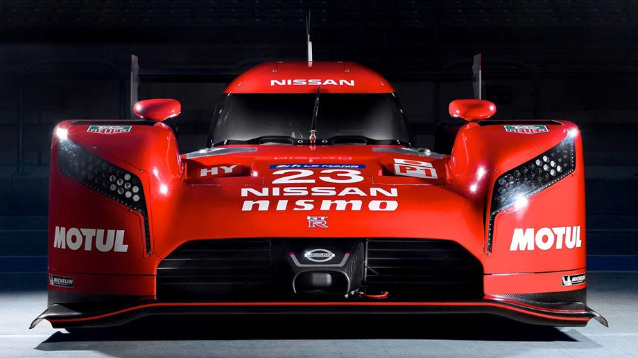 Hat was vom Batmobil: der Nissan GT-R LM Nismo. (Quelle: press-inform)