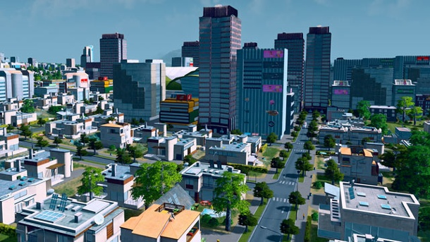 """Cities: Skylines"": Add-on ""After Dark"" bringt viele neue Funktionen. Cities: Skylines Städtebau-Simulation fürWindows- PC, Mac und Linux von Colossal Order  (Quelle: Paradox Interactive )"