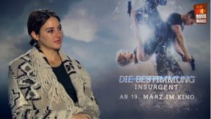 'Die Bestimmung - Insurgent': Interview mit Shailene Woodley und Theo James. (Screenshot: t-online.de)