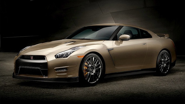Nissan GT-R Gold Edition - Rasender Goldbarren. Nissan GT-R Gold Edition  (Quelle: Hersteller)