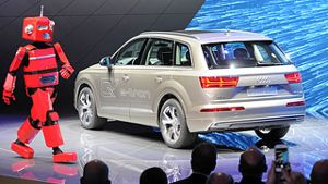 Shanghai Auto Show: Audi will in China im Oberklassensegment punkten. (Screenshot: United Pictures)