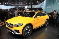 Mercedes-GLC-Coupé (Quelle: press-inform)