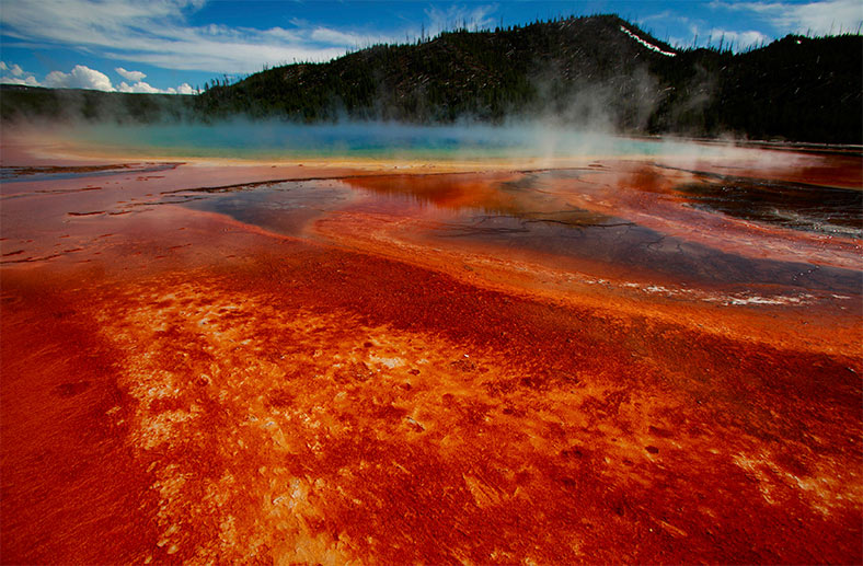 Supervulkan Yellowstone: Unter dem Nationalpark im US-Staat Wyoming brodelt so viel Magma, dass Supereruptionen drohen. (Quelle: Reuters)