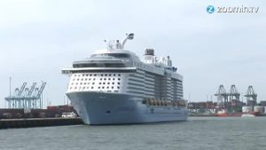 'Anthem of the Seas' ist ein Kreuzfahrtschiff der Superlative. (Screenshot: Zoomin)
