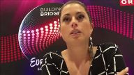 ESC: Interview mit Ann Sophie in Wien. (Screenshot: t-online.de)