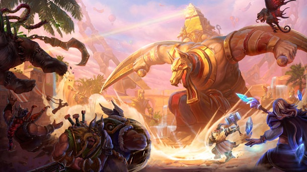 """Heroes of the Storm"" im Test: Stürmische Blizzard-Helden. Heroes of the Storm MOBA-Actionspiel von Blizzard Entertainment für PC und Mac (Quelle: Activision-Blizzard)"