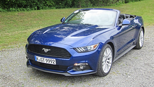 ford mustang erster test mit dem ecoboost vierzylinder. Black Bedroom Furniture Sets. Home Design Ideas