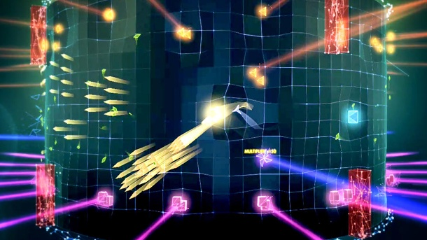 Geometry Wars 3: Dimensions Evolved landet auf der PS Vita. Geometry Wars 3 Retro-Arcade-Shooter von Lucid Games (Quelle: Activision)