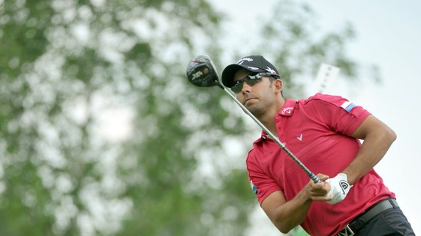 Golf: Larrazábal gewinnt Turnier in München - Schneider 20.. Pablo Larrazábal hat die BMW International Open in München gewonnen.
