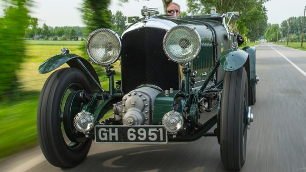 Bentley Blower: Blasangriff vom grünen Ungetüm. Bentley Blower (Quelle: Press-Inform)