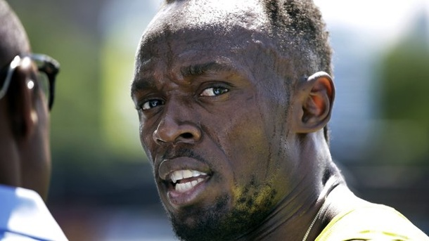 Leichtathletik: Sprint-Superstar Bolt plant Start am 24. Juli in London. Usain Bolt will beim Meeting in London im 100-Meter-Rennen starten.
