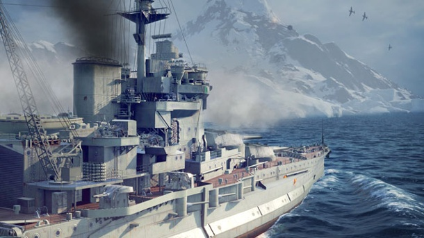 World of Warships: Die britische Flotte greift ein. World of Warships Strategiespiel von Wargaming.net für PC (Quelle: Wargaming.net)