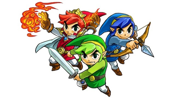 Preview zu The Legend of Zelda: Triforce Heroes. The Legend of Zelda: Triforce Heroes Koop-Adventure von Nintendo für 3DS (Quelle: Nintendo)