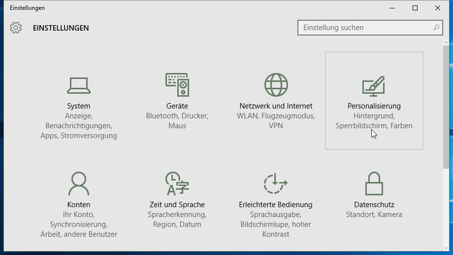 Windows-10-Startmenü anpassen (Quelle: t-online.de)