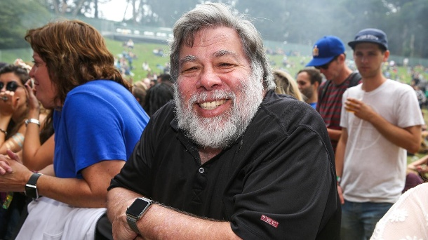 Steve Wozniak: Warum sich das Apple-Genie mit dem Erfolg schwertat . Steve Wozniak besuchte im August 2015 das Outside Lands Music Festival in San Francisco. (Quelle: AP/dpa)