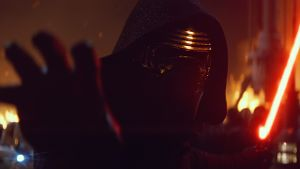 Auf den Spuren Darth Vaders: 'Star Wars'-Schurke Kylo Ren (Adam Driver).