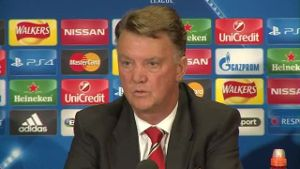 Van Gaal warnt ManUnited vor CL-Playoffs gegen Brügge. (Screenshot: Omnisport)