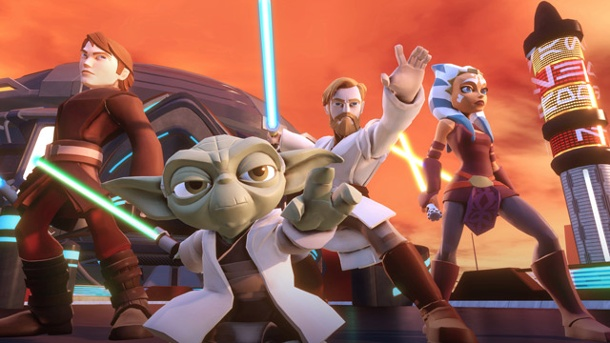 Action im All, in Hongkong und in der Antike. Disney Infinity 3 (Quelle: Disney Interactive)