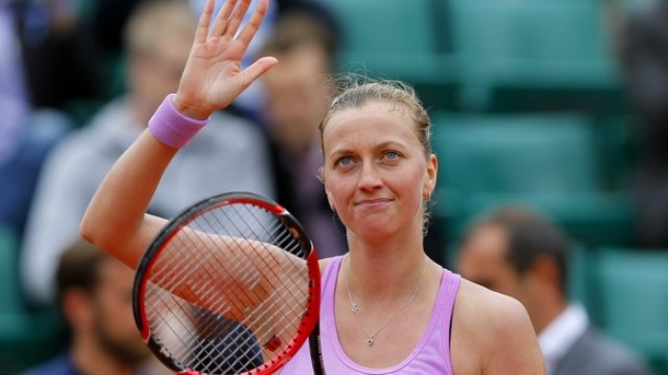 Tennis: Kvitova feiert erneuten Turniersieg in New Haven. Die Siegerin von New Haven: Petra Kvitova.