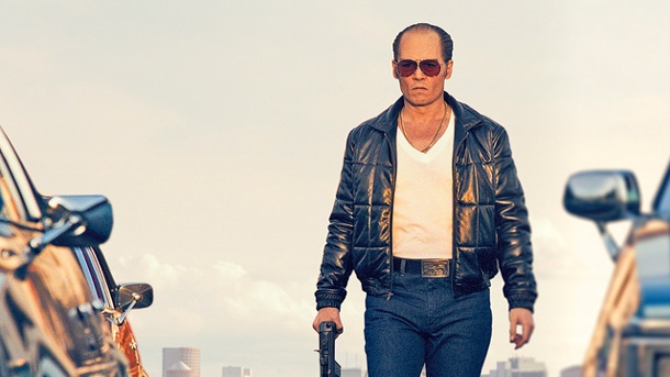 "Exklusives Video: Johnny Depp im Gangsterfilm ""Black Mass"". Johnny Depp ist James ""Whitey"" Bulger. (Quelle: Warner Bros.)"