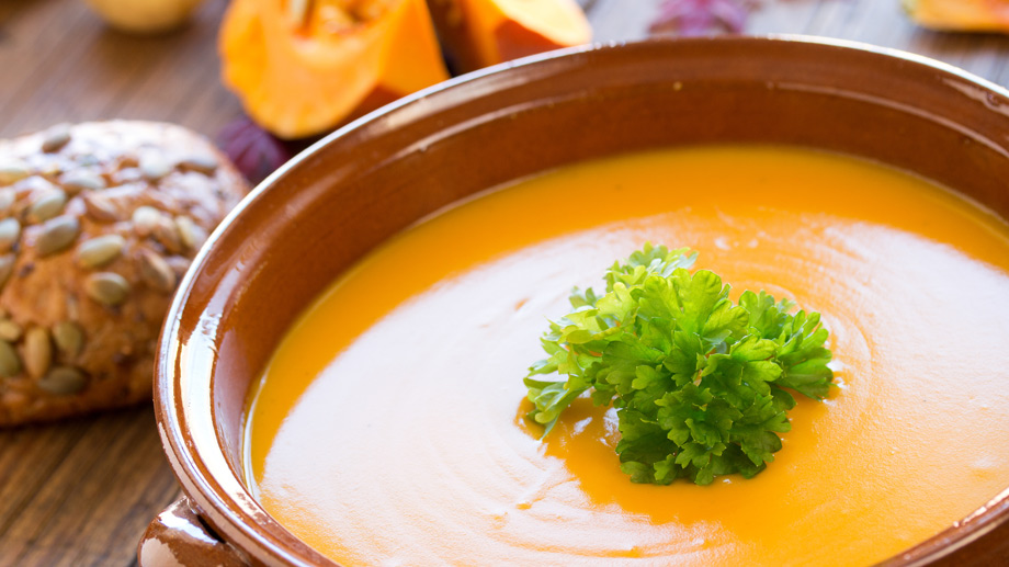 Kürbissuppe  (Quelle: Thinkstock by Getty-Images)