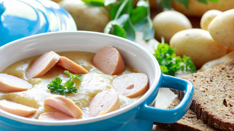 Kartoffelsuppe  (Quelle: Thinkstock by Getty-Images)