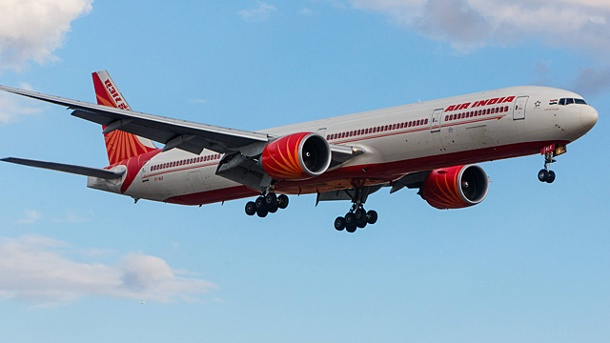 Air Indias neue Verbindung mit fast 17 Stunden Flugzeit. Eine Boeing 777-337 der Air India. Die Airline fliegt ab Dezember nonstop von Delhi nach San Francisco. (Quelle: imago/Woelk)