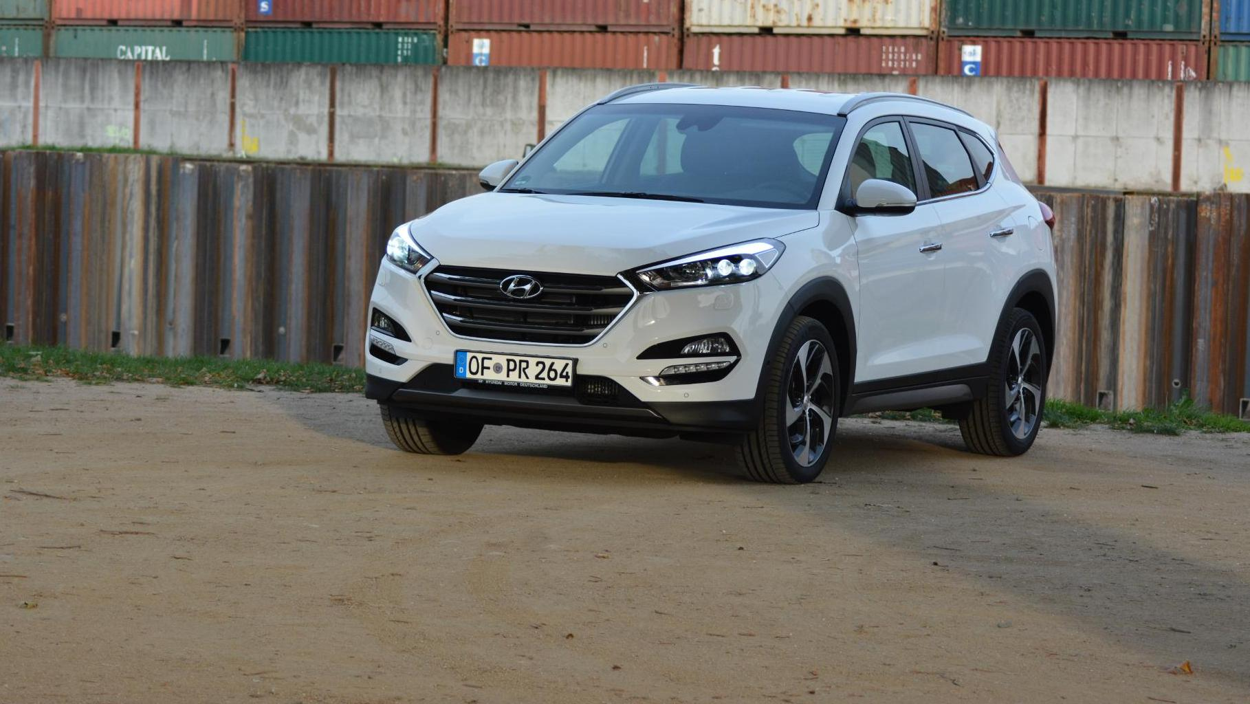 hyundai tucson im autotest koreanisches suv in guter form. Black Bedroom Furniture Sets. Home Design Ideas