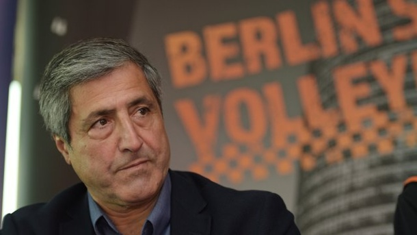 Volleyball: Berlin Volleys wollen mit Rekord-Etat den Titel. Kaweh Niroomand ist der Manager der Berlin Volleys.