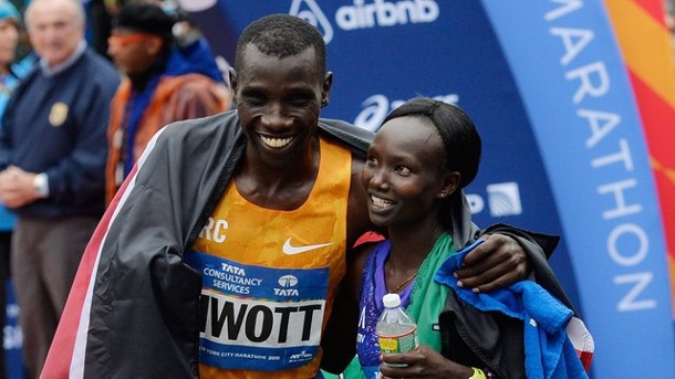 Leichtathletik - New-York-Marathon: Kenias Asse dominieren im Big Apple. Die Kenianer Stanley Biwott und Mary Keitany gewannen in New York City.