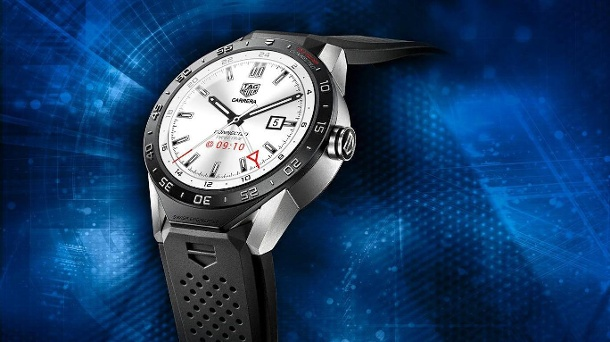 "Tag Heuer und Intel stellen neue Smartwatch ""Connected"" vor. Tag Heuer Connected (Quelle: dpa)"