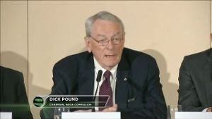WADA-Boss Dick Pound will Russland suspendieren. (Screenshot: Omnisport)