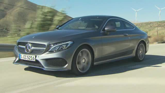Zwei neue C-Coupé-Modelle von Mercedes. (Screenshot: Car News TV)