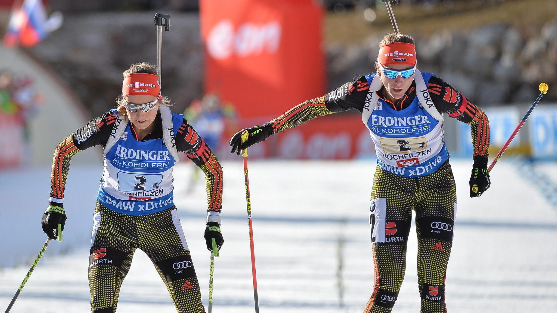 Damen Biathlon Staffel