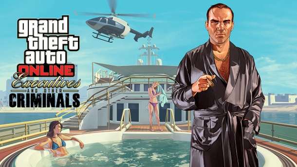 "GTA Online: Rockstar startet ""Executives and Other Criminals"". Das Gratis-Update ""Executives and Other Criminals"" enthält neue Gameplay-Modi und Optionen für einen luxuriösen Lifestyle.  (Quelle: Rockstar Games)"