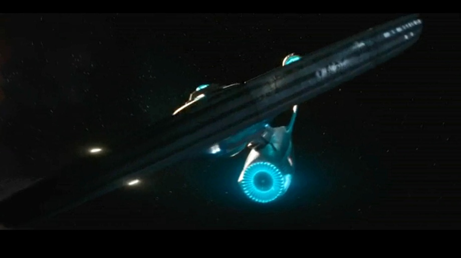 "Star Trek Beyond: Hier ist der erste Trailer zum neuen Enterprise-Film. Die Enterprise geht in ""Star Trek Beyond"" auf ihre nächste Mission. (Quelle: Screenshot: Paramount Pictures)"