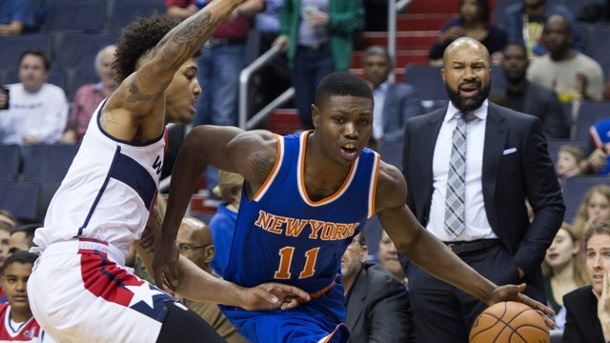 Basketball: New Yorker Early überfallen und ins Knie geschossen. Cleanthony Early (r.