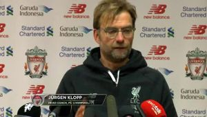 Reds-Coach Klopp: 'It's not a wish concert'. (Screenshot: Omnisport)
