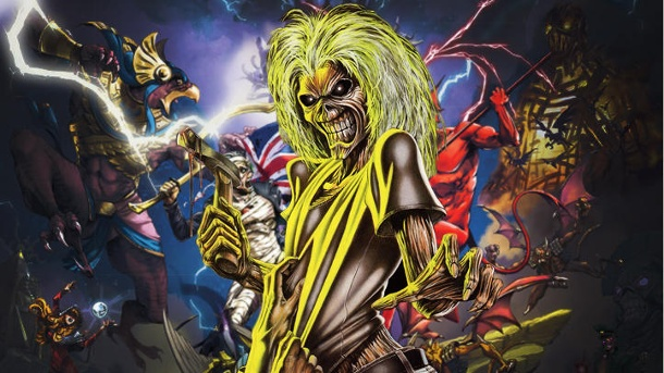 """Legacy of the Beast"": Iron Maiden bringt neues Spiel heraus. Iron Maiden: ""Legacy of the Beast"" Free-to-Play-Rollenspiel von Roadhouse Interactive und 50CC Games  (Quelle:  Roadhouse Interactive / 50CC Games)"