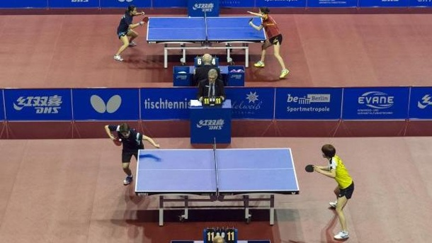 German Open: Ovtcharov und Boll im Viertelfinale. German Open 2016
