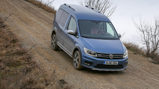 vw caddy alltrack der caddy macht einen auf robust. Black Bedroom Furniture Sets. Home Design Ideas