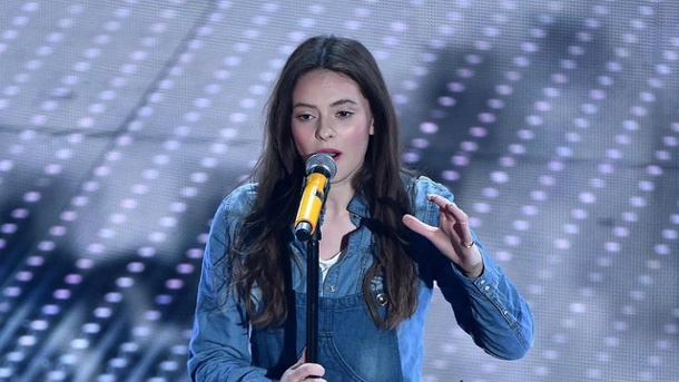 Hat ein Ticket nach Stockholm in der Tasche: Francesca Michielin. (Quelle: dpa)