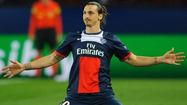 Champions League: Paris Saint-Germain ist heiß auf FC Chelsea . Ein Triumph in der Champions League fehlt Zlatan Ibrahimovic noch in seiner umfangreichen Titelsammlung. (Quelle: imago/BPI)