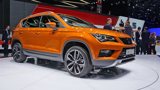 Seat Ateca Weltpremiere in Genf – Seats erstes SUV. (Screenshot: die-autotester.com)