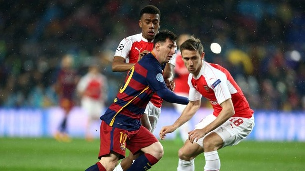 Champions League: Niemand stoppt den FC Barcelona. Auch Arsenal konnte Messi & Co.