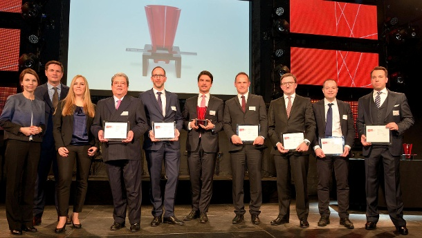 Morningstar Fund Awards 2016: Die besten Fonds für Ihre Geldanlage. Preisträger und Veranstalter der Morningstar Fund Awards. (Quelle: Holger Ullmann/ Morningstar)