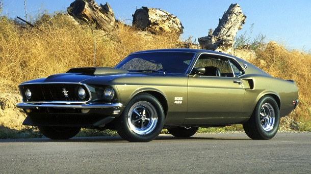 Die faszinierendsten Muscle Cars und ihre Historie. 1969 Ford Mustang Boss 429 (Quelle: 2010 Ford Motor Company)