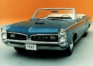 Die Cabrio-Version den Pontiac GTO (Quelle: press-inform)