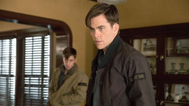 "Film - Katastrophenfilm: ""The Finest Hours"". Chris Pine als Bernie Webber im Kinofilms ""The Finest Hours""."