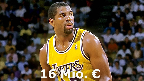 "Earvin ""Magic"" Johnson (Quelle: ZUMA Press)"